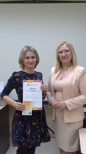 Irina Smirnova and Head Elena Bobrova, Ivanovo