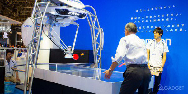Робот для игры в пинг-понг!