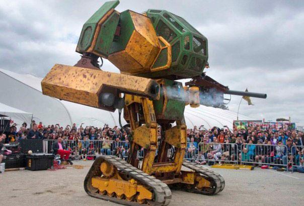 Битвы громадных роботов уже завтра?!