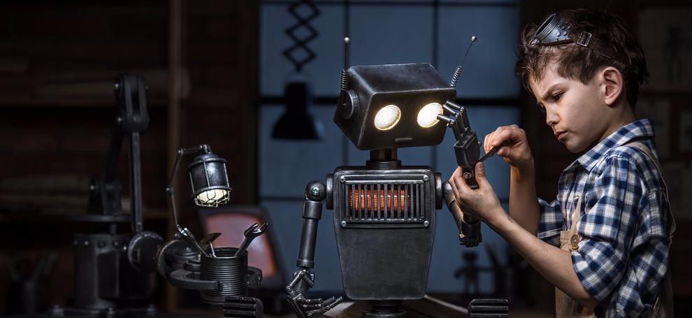 Пять причин записать ребенка на курсы робототехники